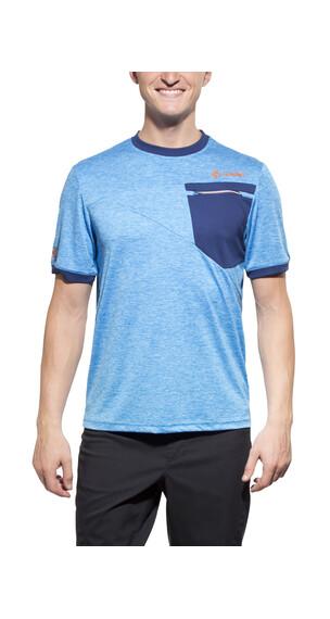 Cube Tour Free Koszulka kolarska Mężczyźni niebieski